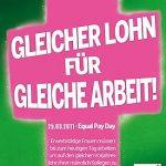 Einladung: Gleicher Lohn für gleiche Arbeit – BündnisGrüne diskutieren auch im Juni über Equal Pay