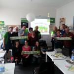 Gelungener Wahlkampfauftakt im bündnisgrünen Kreisverband