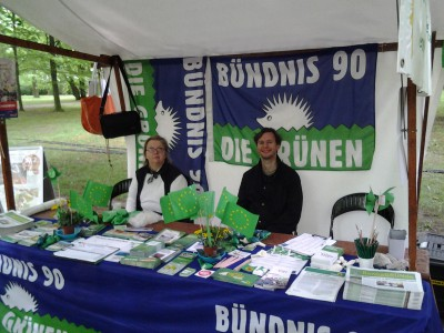 Gruenenstand Bluetenfest Biesdorf 2015