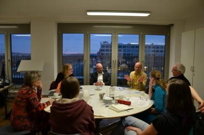 Bezirkstag Marzahn-Hellersdorf – Der neue Rektor der ASH, Uwe Bettig, unterstützt die studentische Umweltinitiative.