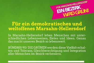 Wahlprogramm Bündnis 90/Die Grünen Marzahn-Hellersodrf