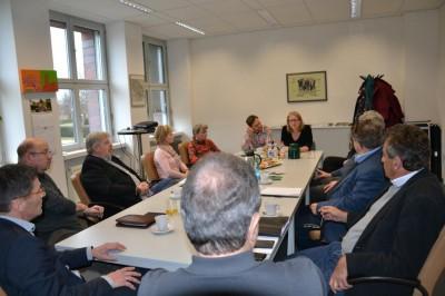 Bezirkstag Marzahn-Hellersdorf – Der Marzahn-Hellersdorfer Wirtschaftskreis arbeitet auch eng mit Lichtenberg zusammen.
