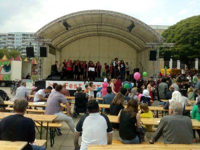 Ein gelungenes Fest der Nachbar*innen in Marzahn-Hellersdorf
