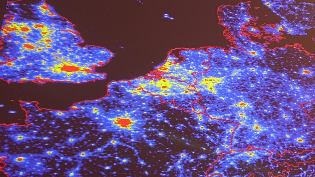 Lichtverschmutzung Karte Europa.Lichtverschmutzung Karte Bündnis 90 Die Grünenbündnis 90 Die