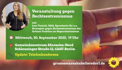 Veranstaltung gegen Rechtsextremismus
