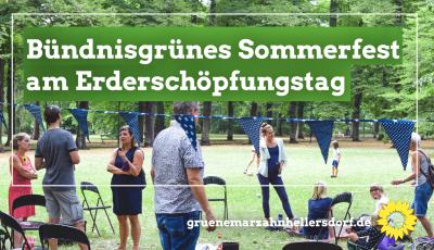 Sommerfest Erderschöpfungstag