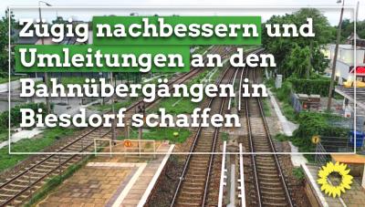 Bahnübergänge Biesdorf