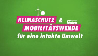 Klimaschutz & Mobilitätswende