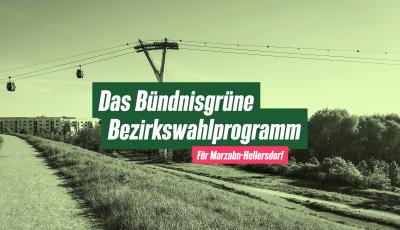 Bezirkswahlprogramm