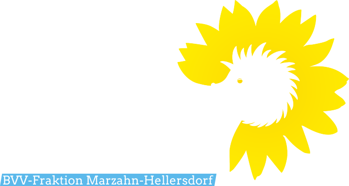 Fraktion Bündnis 90/Die Grünen Marzahn-Hellersdorf Logo